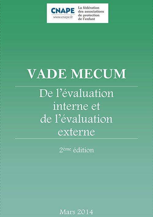 Couverture VADE-MECUM : VADE-MECUM _De l'évaluation interne et externe - 2ème édition