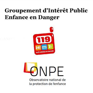 Logo Groupement d'Intérêt Public Enfance en Danger