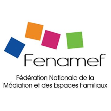 Logo Fédération Nationale de la Médiation et des Espaces Familiaux (Fenamef)