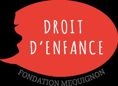 Logo DROIT D'ENFANCE – FONDATION MEQUIGNON