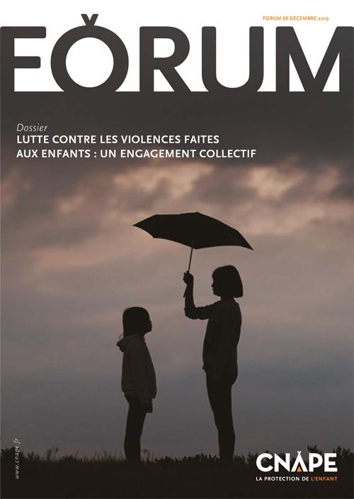Couverture FORUM : FORUM 88_Lutte contre les violences faites aux enfants : un engagement collectif