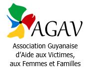Logo AGAV – Association Guyanaise d'Aide aux Victimes, aux Femmes et Familles