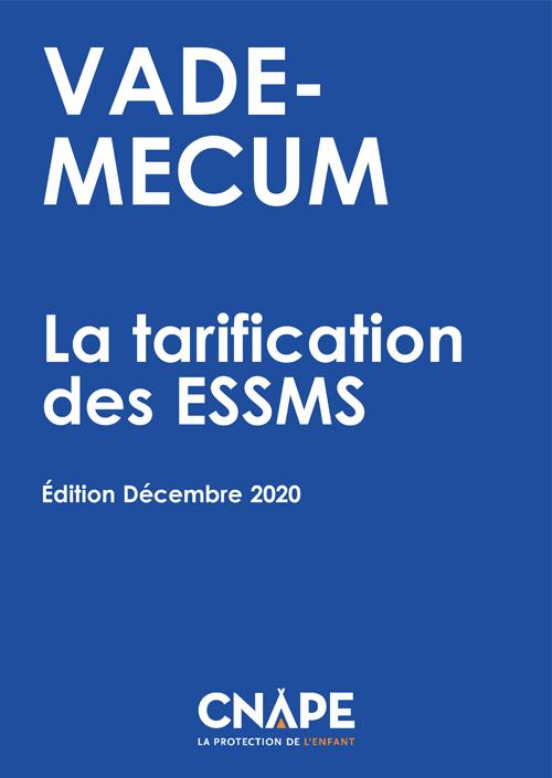 Couverture VADE-MECUM : VADE-MECUM_ La tarification des ESSMS